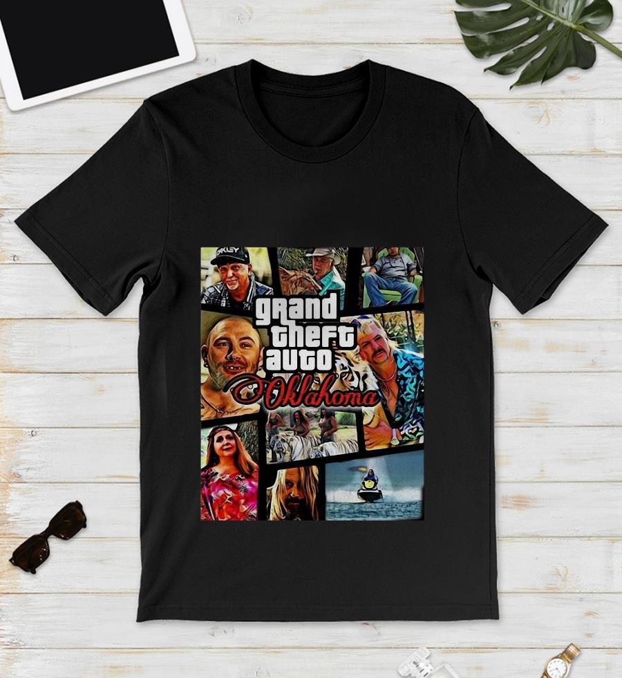 Tiger King grand theft auto Oklahoma unisex shirt
