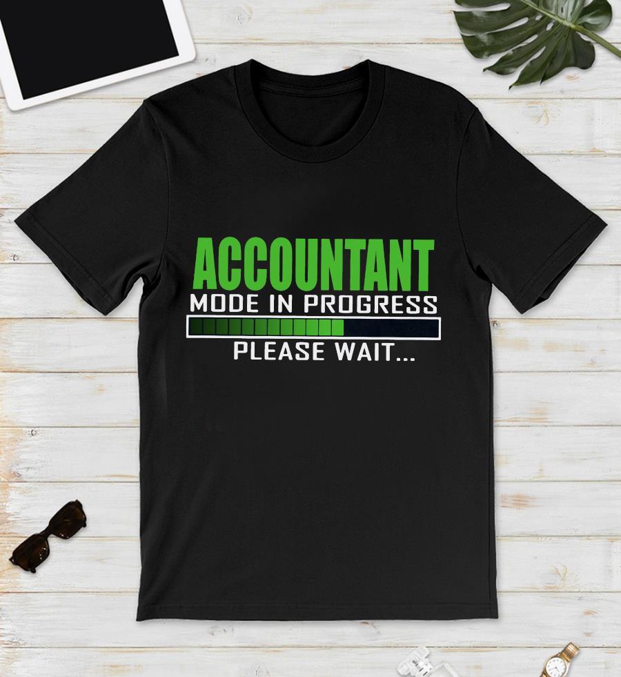 Accountant mode in progress please wait t-s unisex