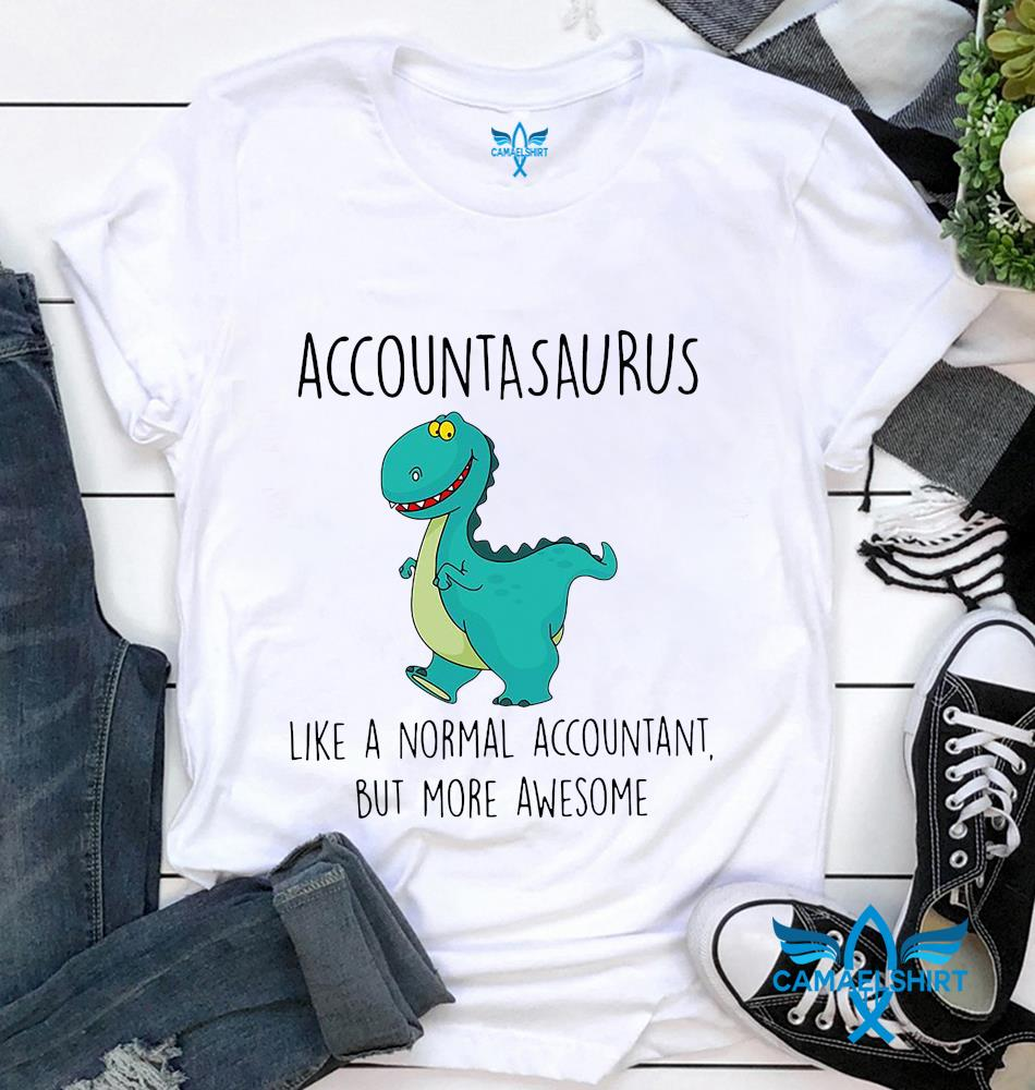 Accountasaurus like a normal accountant but more awesome