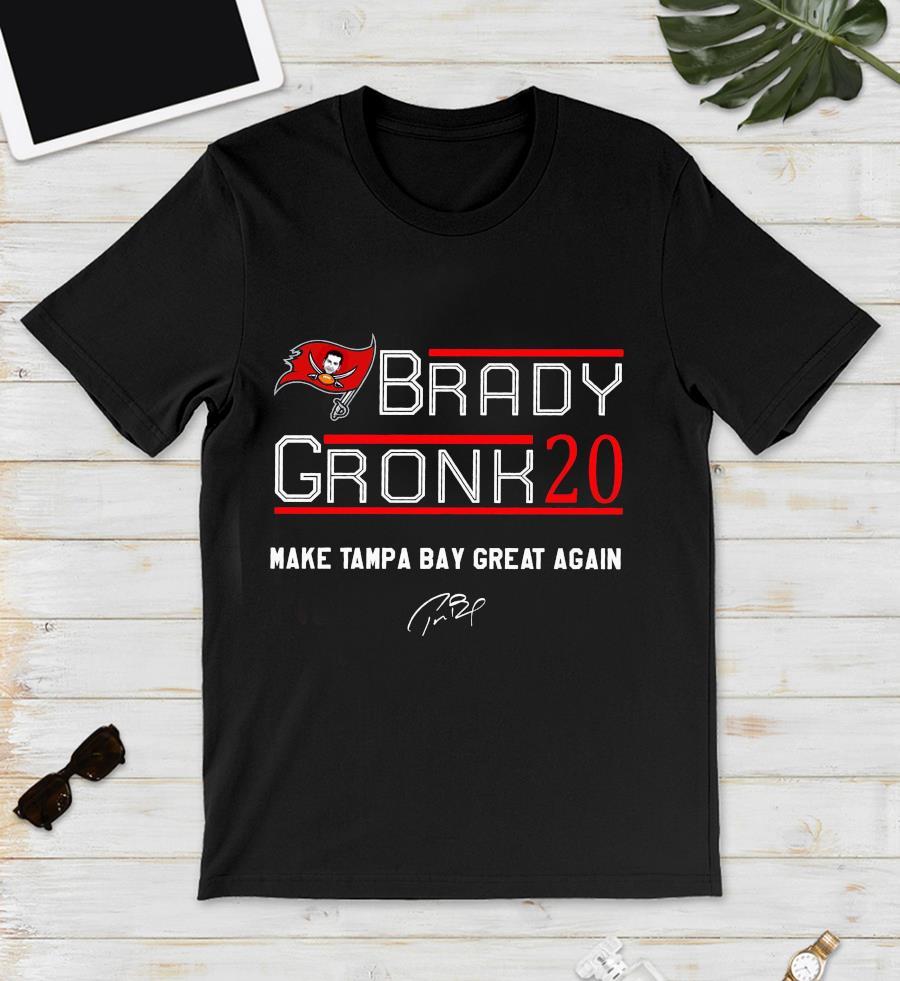 Brady gronk 20 make tampa bay great again unisex t-shirt