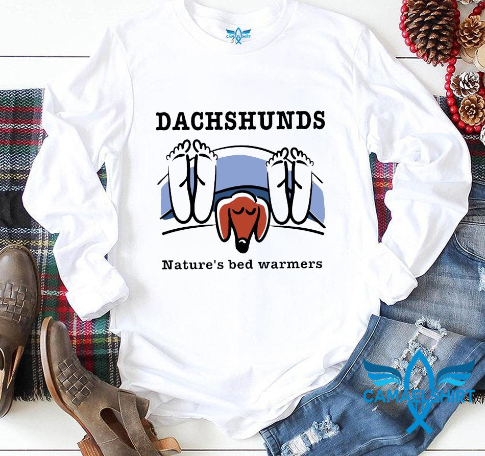 Dachshunds natures bed warmers dog lovers longsleeve