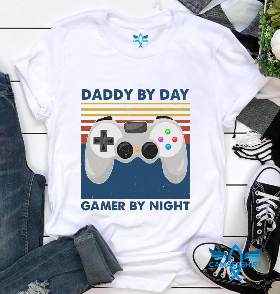 Daddy by day Gamer by night vintage