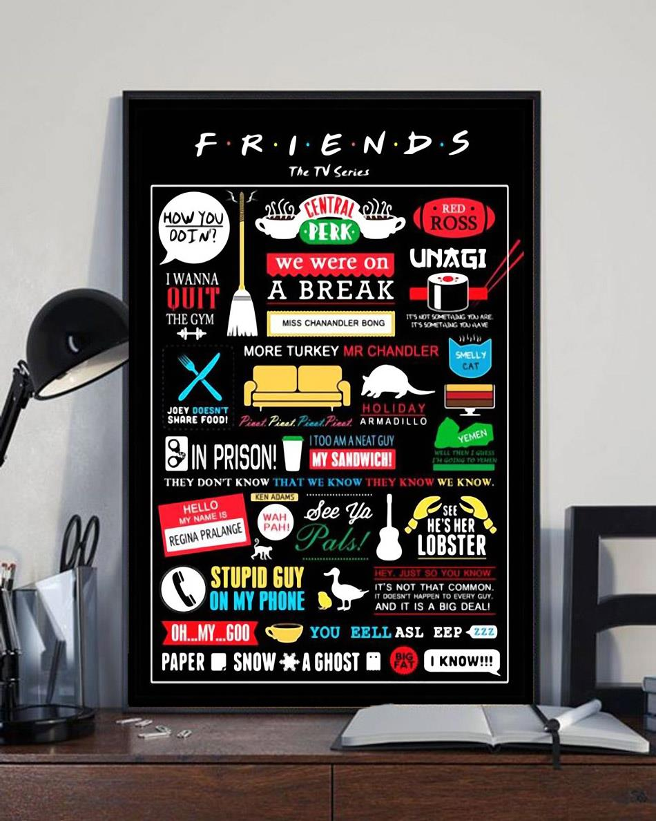 Friends The TV series poster canvas full size