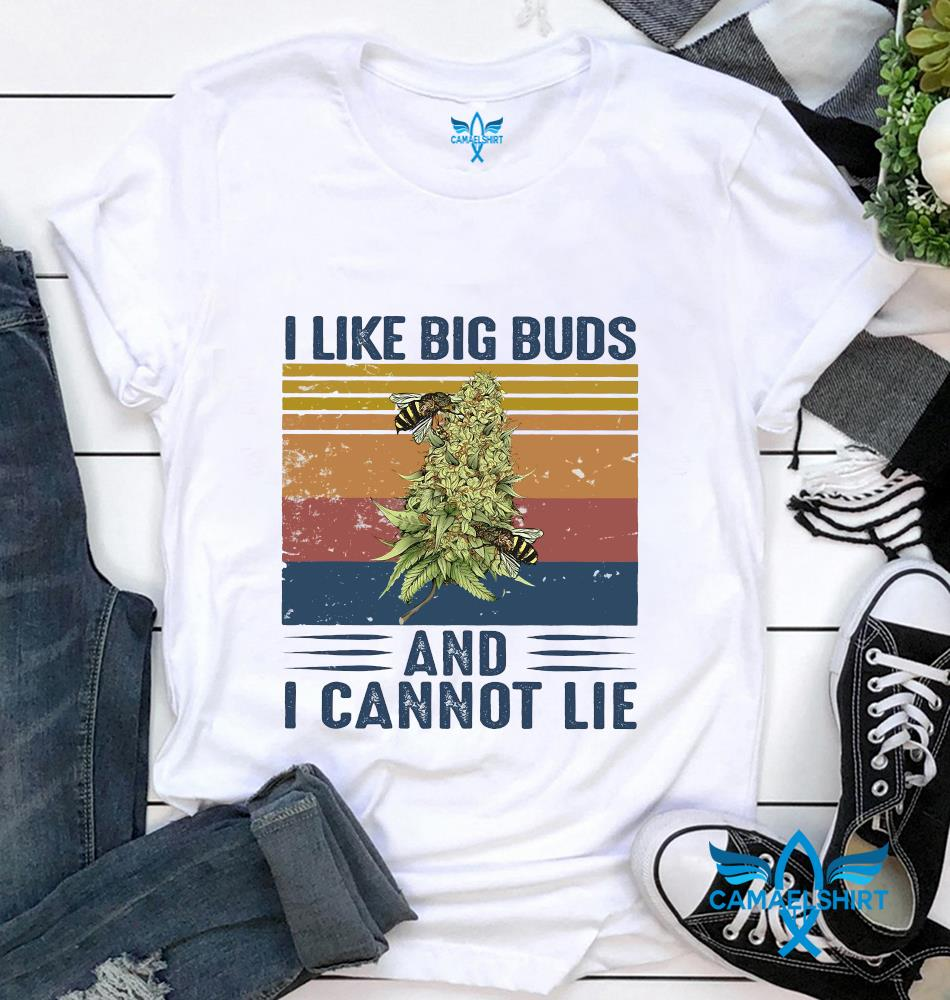 I like big buds and I cannot lie bee retro vintage