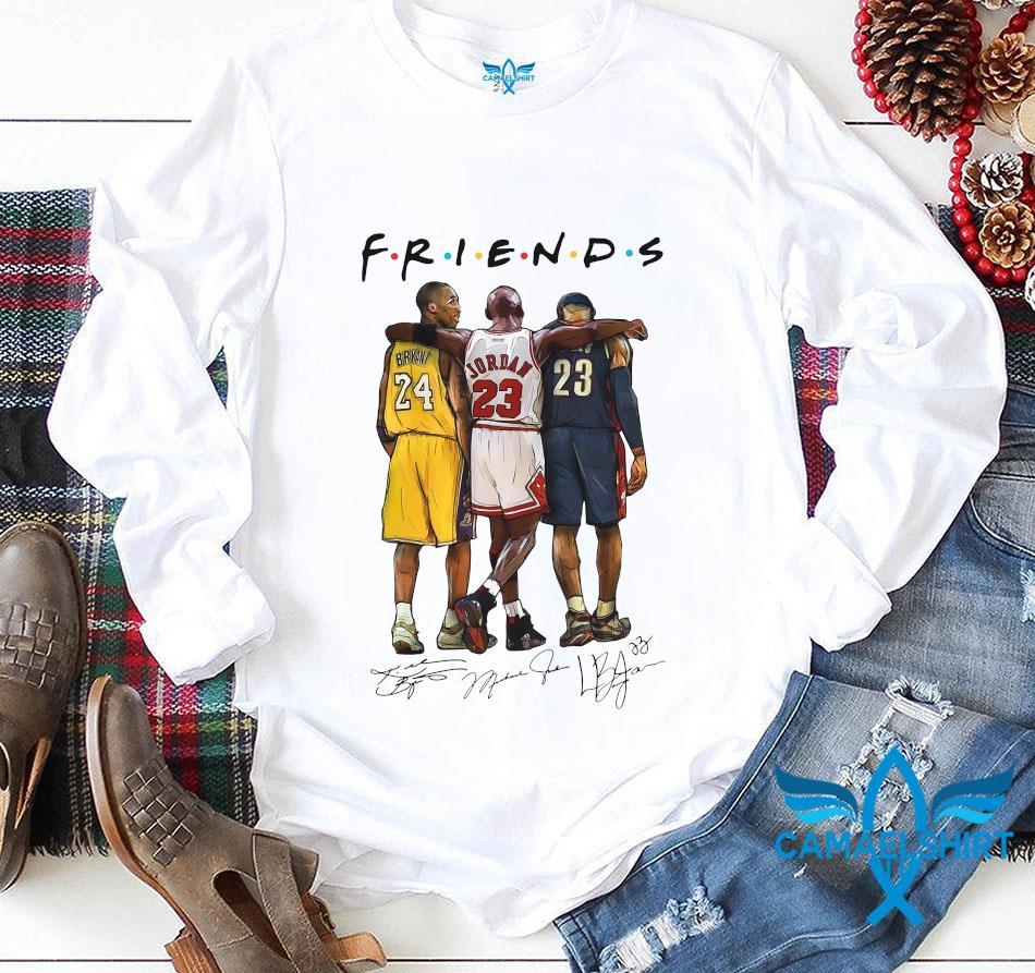 Kobe Bryant Michael Jordan friends signature longsleeve