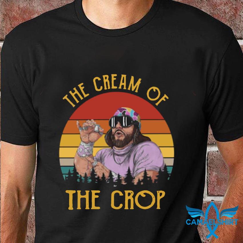 Macho Man the cream of the crop retro vintage t-shirt