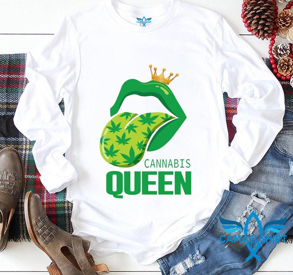Rolling Stones cannabis queen longsleeve
