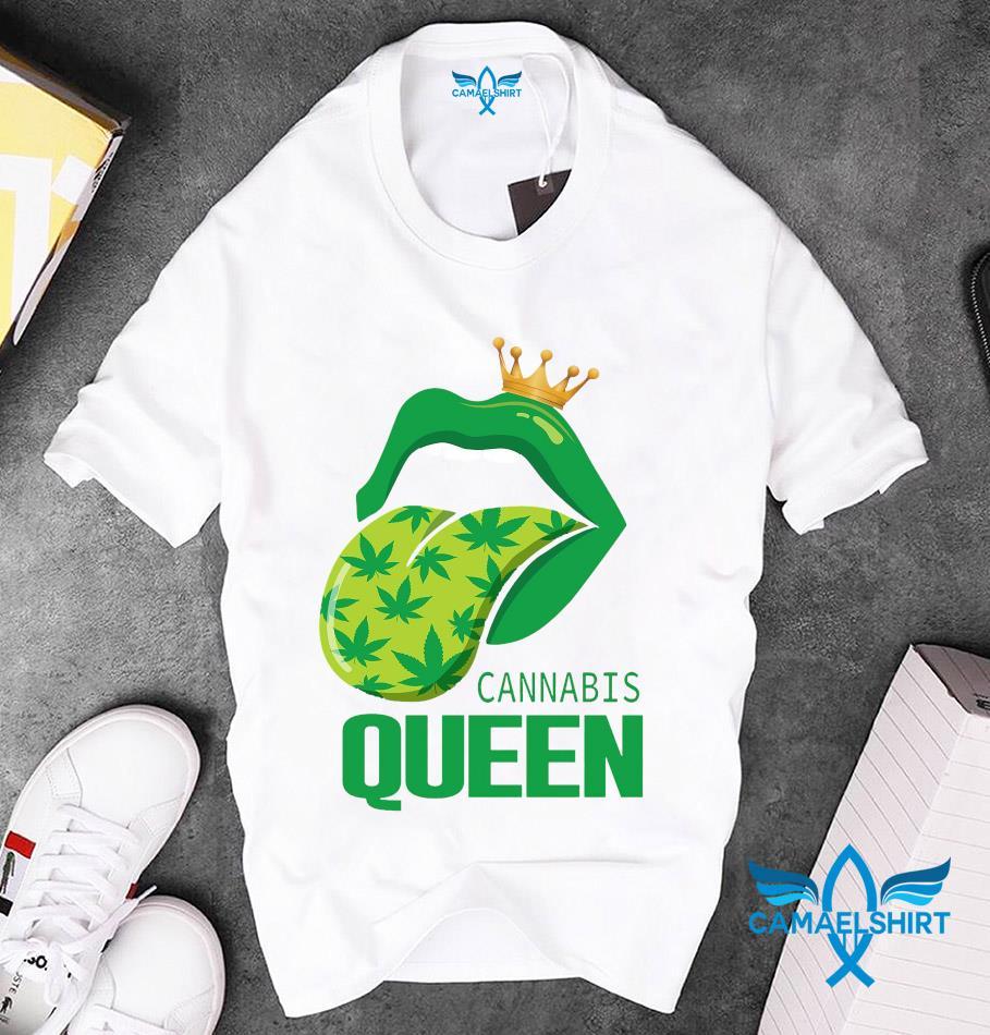 Rolling Stones cannabis queen unisex t-shirt