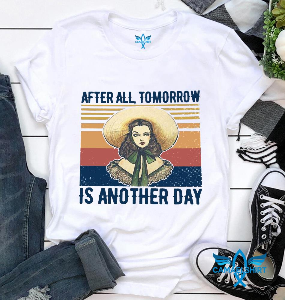 Scarlett Ohara after all tomorrow is another day vintage t-shirt
