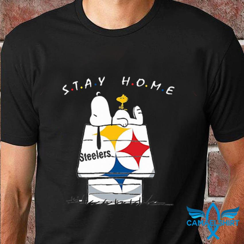 Snoopy Pittsburgh Steelers stay home