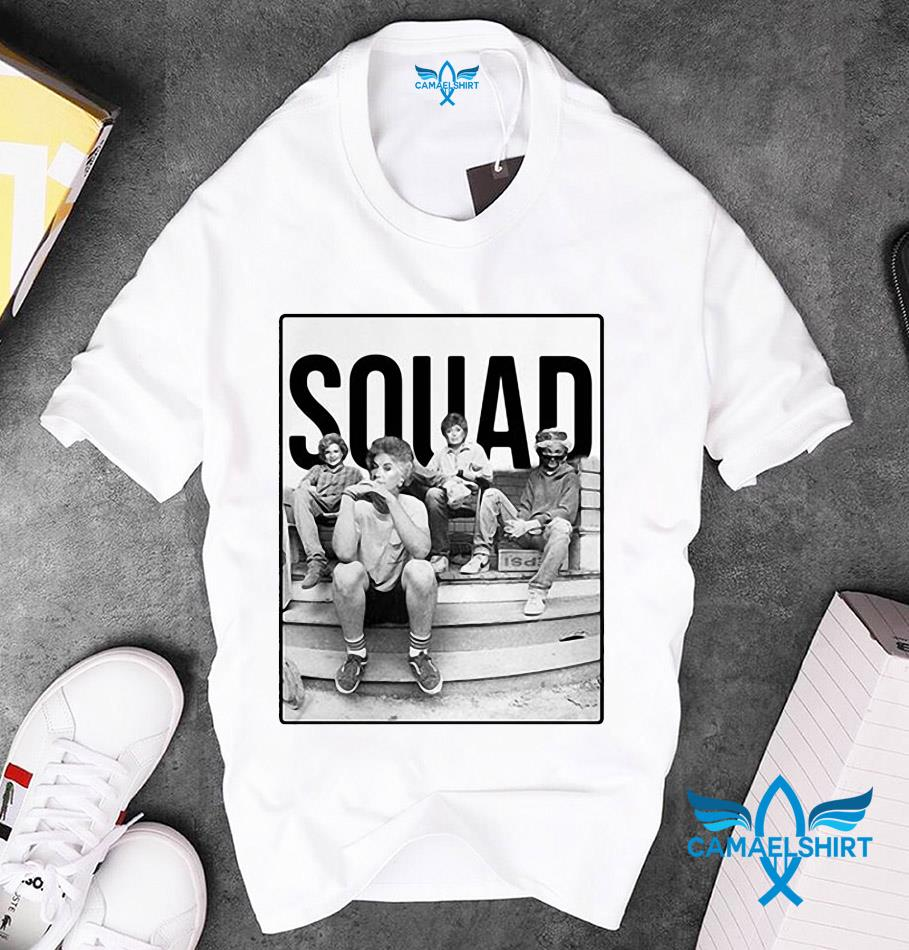 SQUAD Minor Threat Ep mashup Golden Girls unisex t-shirt