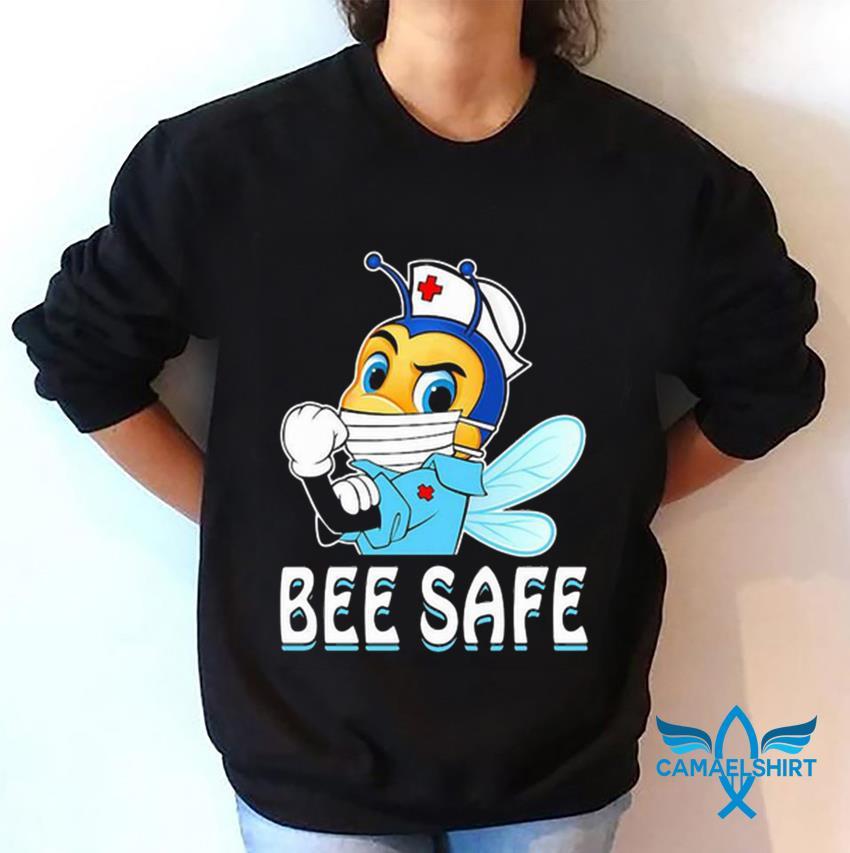 Strong nurse bee safe quarantine sweatshirt