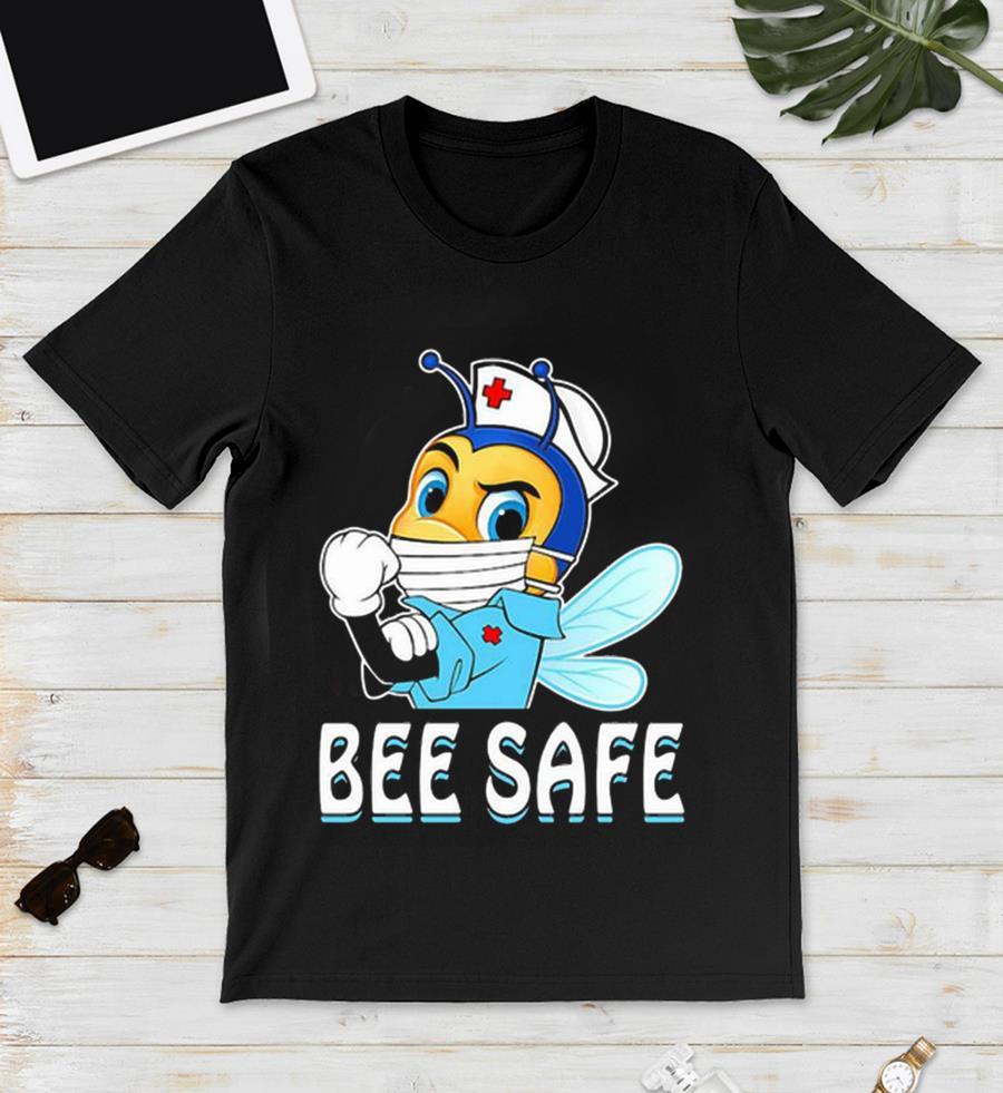 Strong nurse bee safe quarantine unisex t-shirt