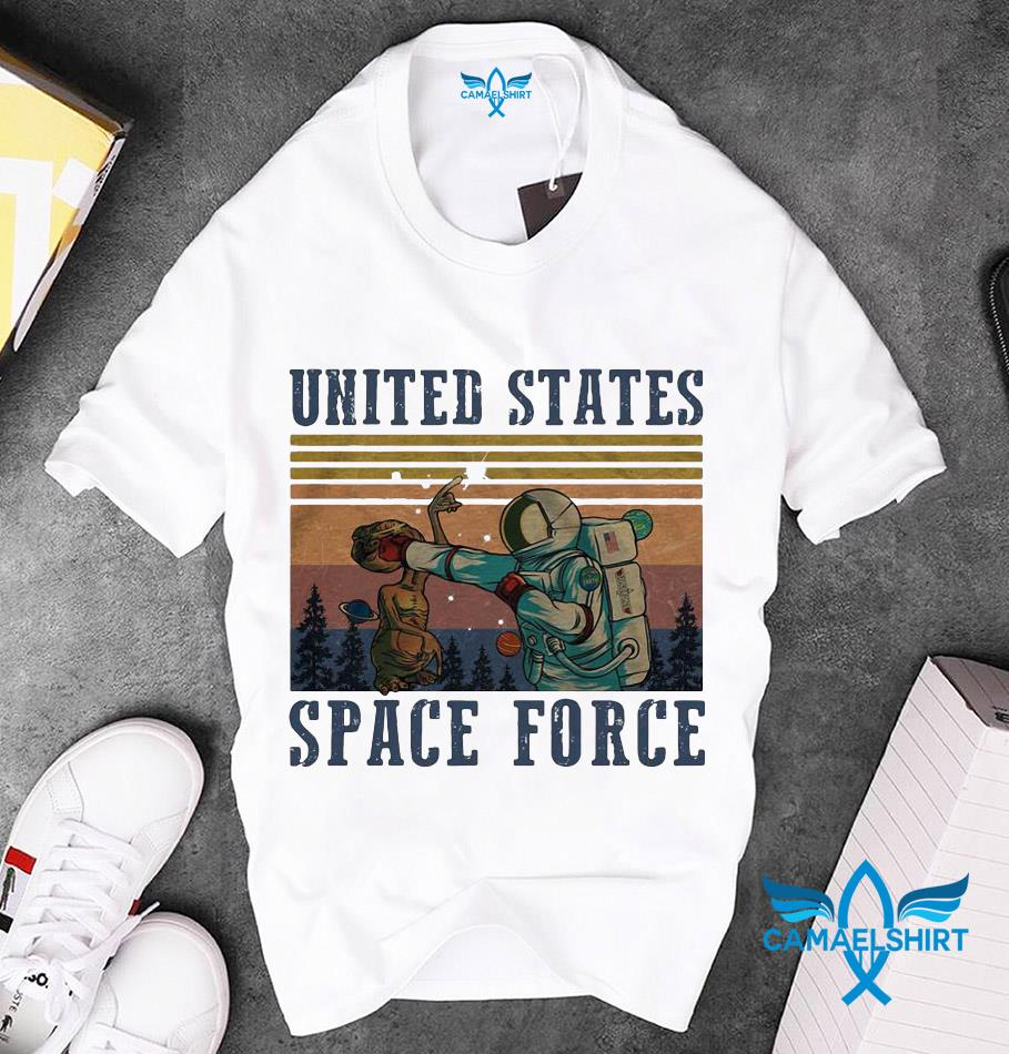 United States Space Force classic vintage retro t-s unisex
