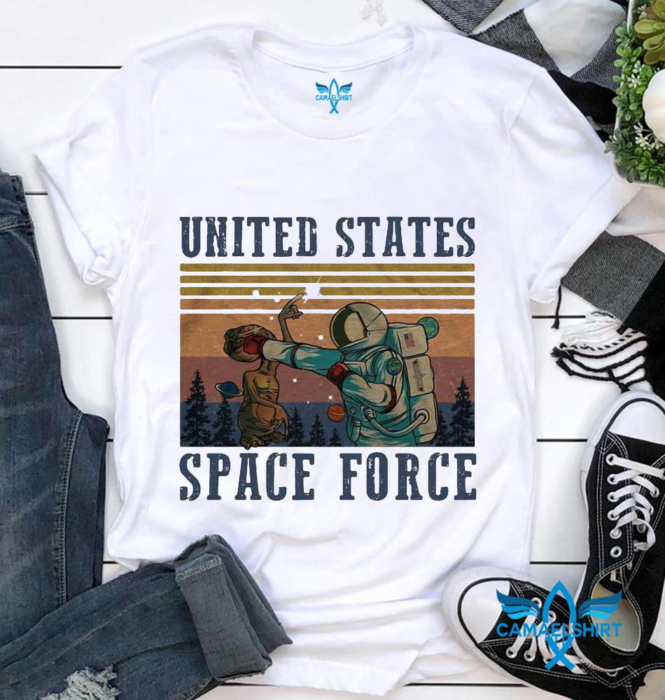 United States Space Force classic vintage retro t-shirt