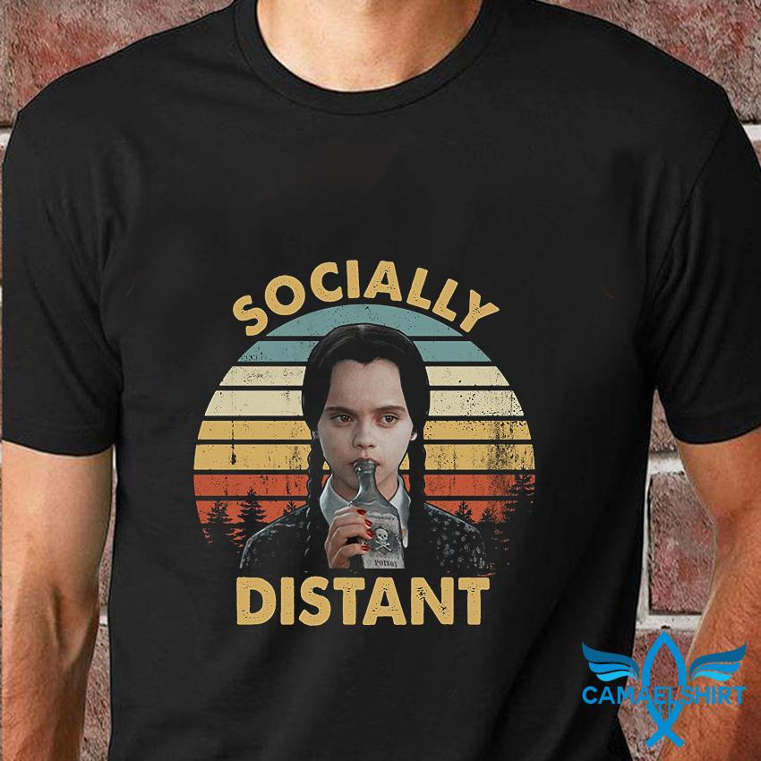 Wednesday Addam socially distant vintage t-shirt