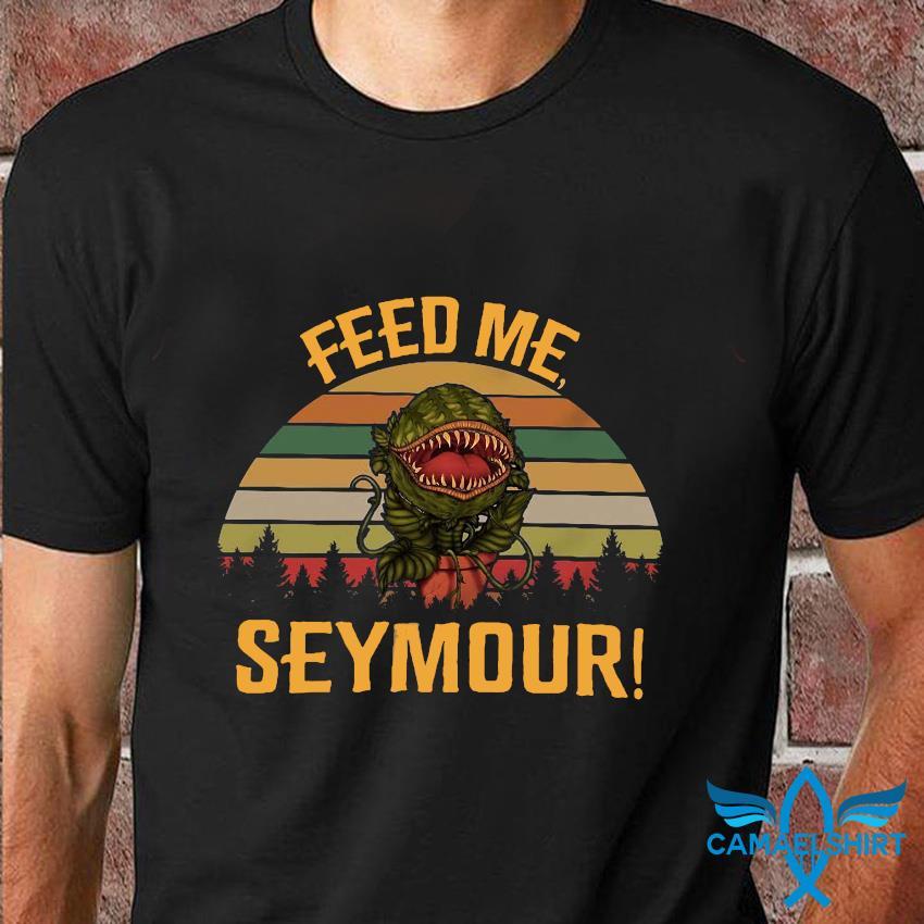 Audrey II feed me seymour vintage retro t-shirt