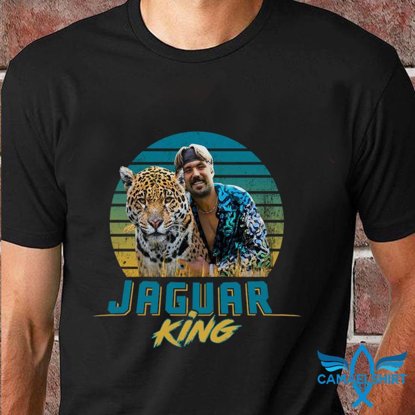 Jaguar King vintage Gardner Jacksonville Joe Exotic t-shirt