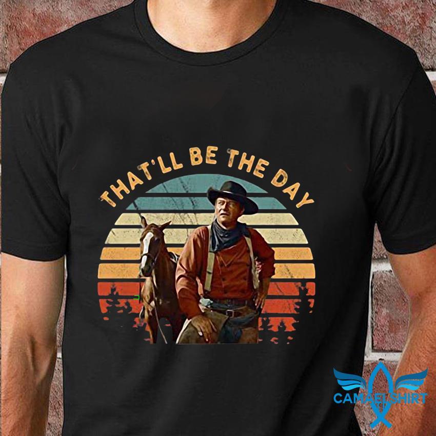 John Wayne that be the day vintage t-shirt