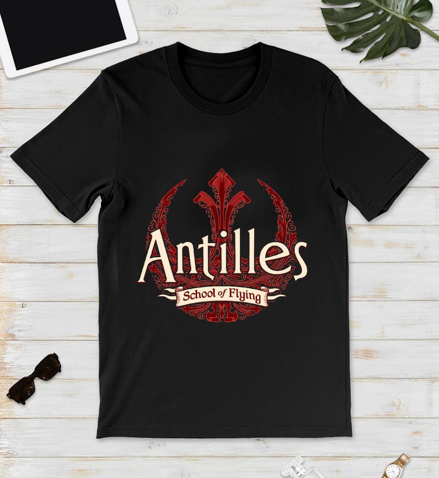 Antilles school of flying t-s unisex