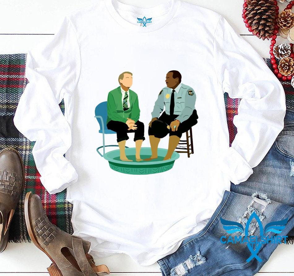 Funny Mister Rogers gay police t-s longsleeve