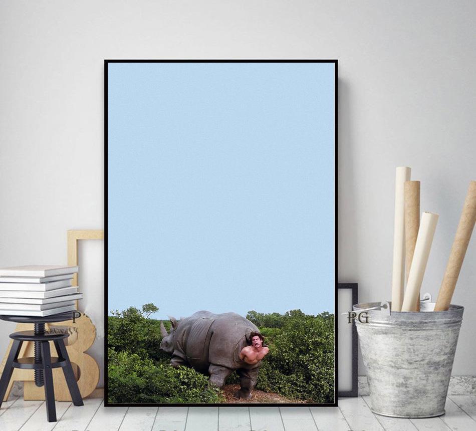 Ace Ventura Rhino pet detective poster decor art