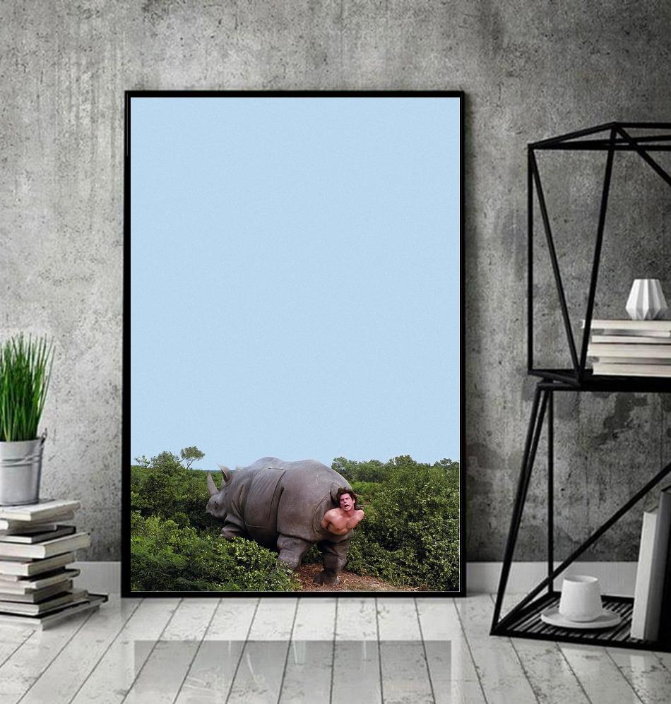 Ace Ventura Rhino pet detective poster decor