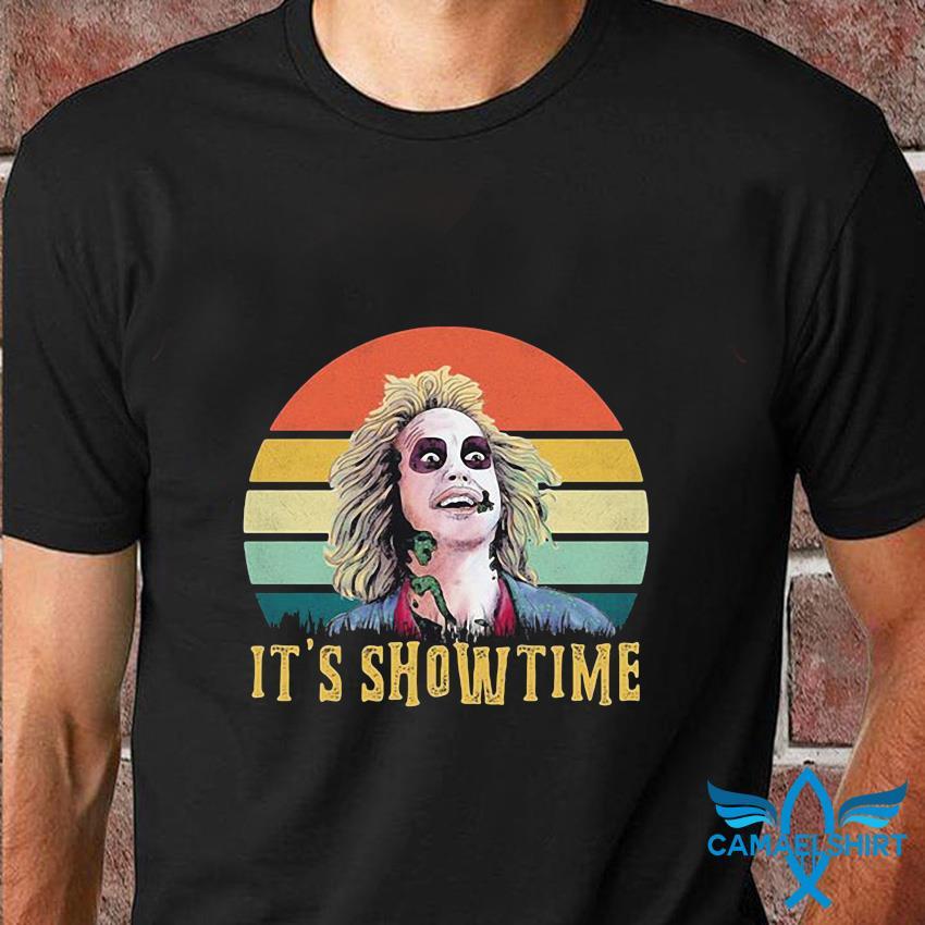 Bettlejuice it's showtime vintage t-shirt