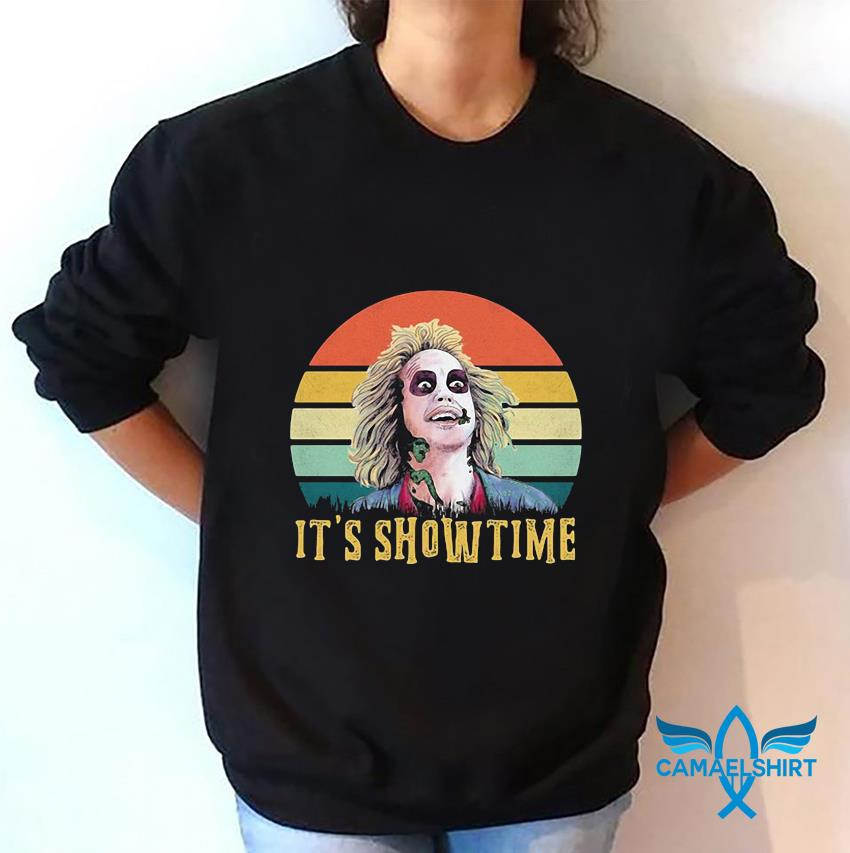 Bettlejuice it's showtime vintage t-s sweatshirt
