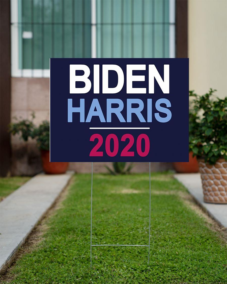 Biden Harris 2020 yard side anti Trump