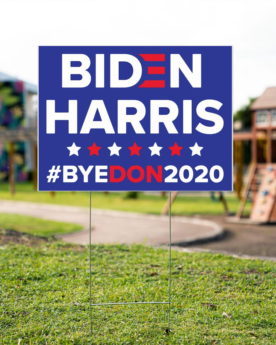 Democratic Joe BIDEN Kamala HARRIS 2020 yard sign garden