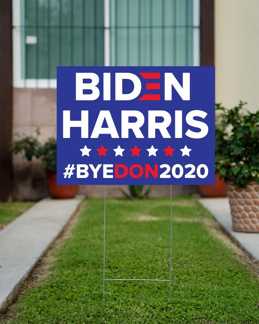 Democratic Joe BIDEN Kamala HARRIS 2020 yard sign