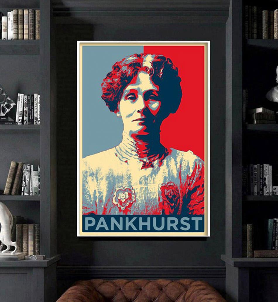 Emmeline Pankhurst original art poster art