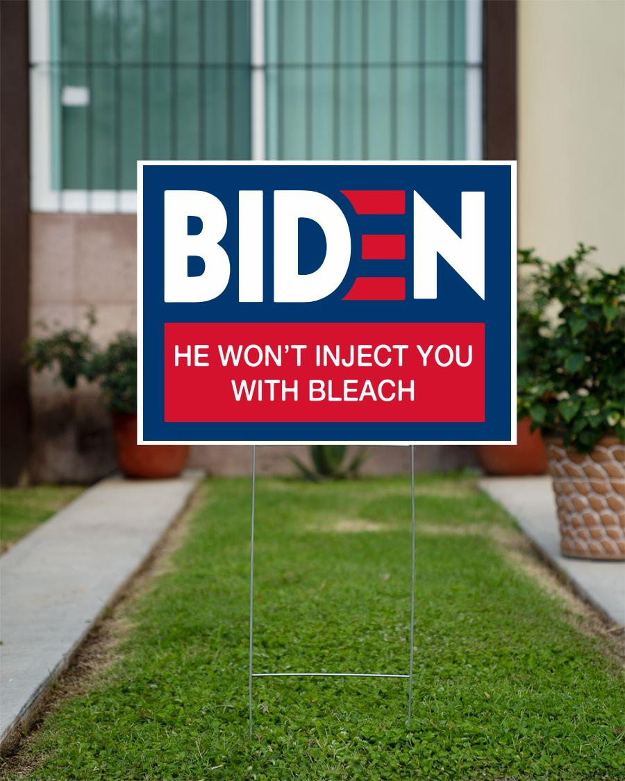 Joe Biden funny anti Trump 2020 yard sign