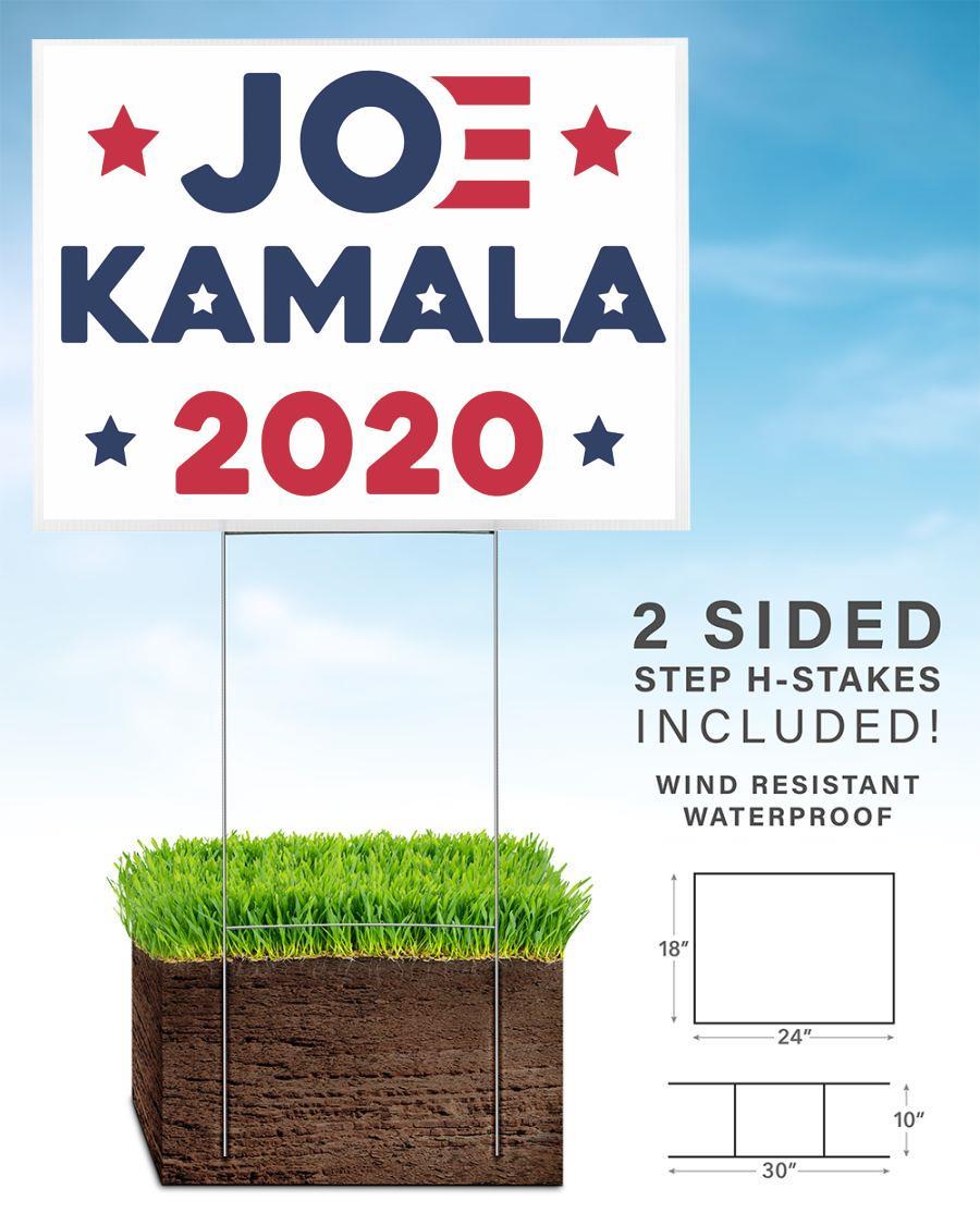 Joe Biden Kamala Harris 2020 political campaign yard sign home