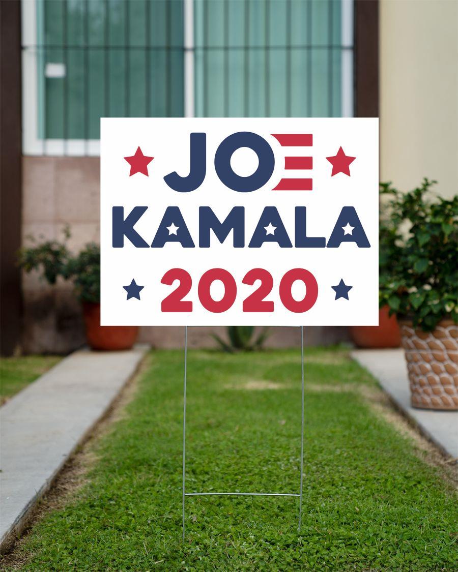 Joe Biden Kamala Harris 2020 political campaign yard sign