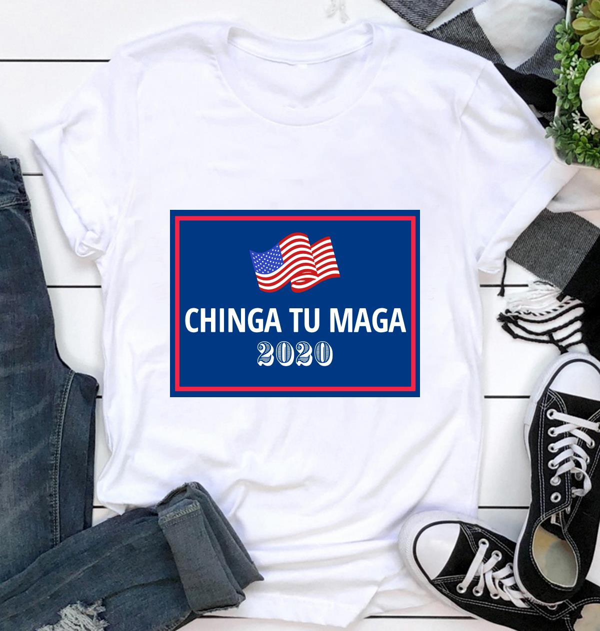 Chinga Tu Maga 2020 yard sign ca