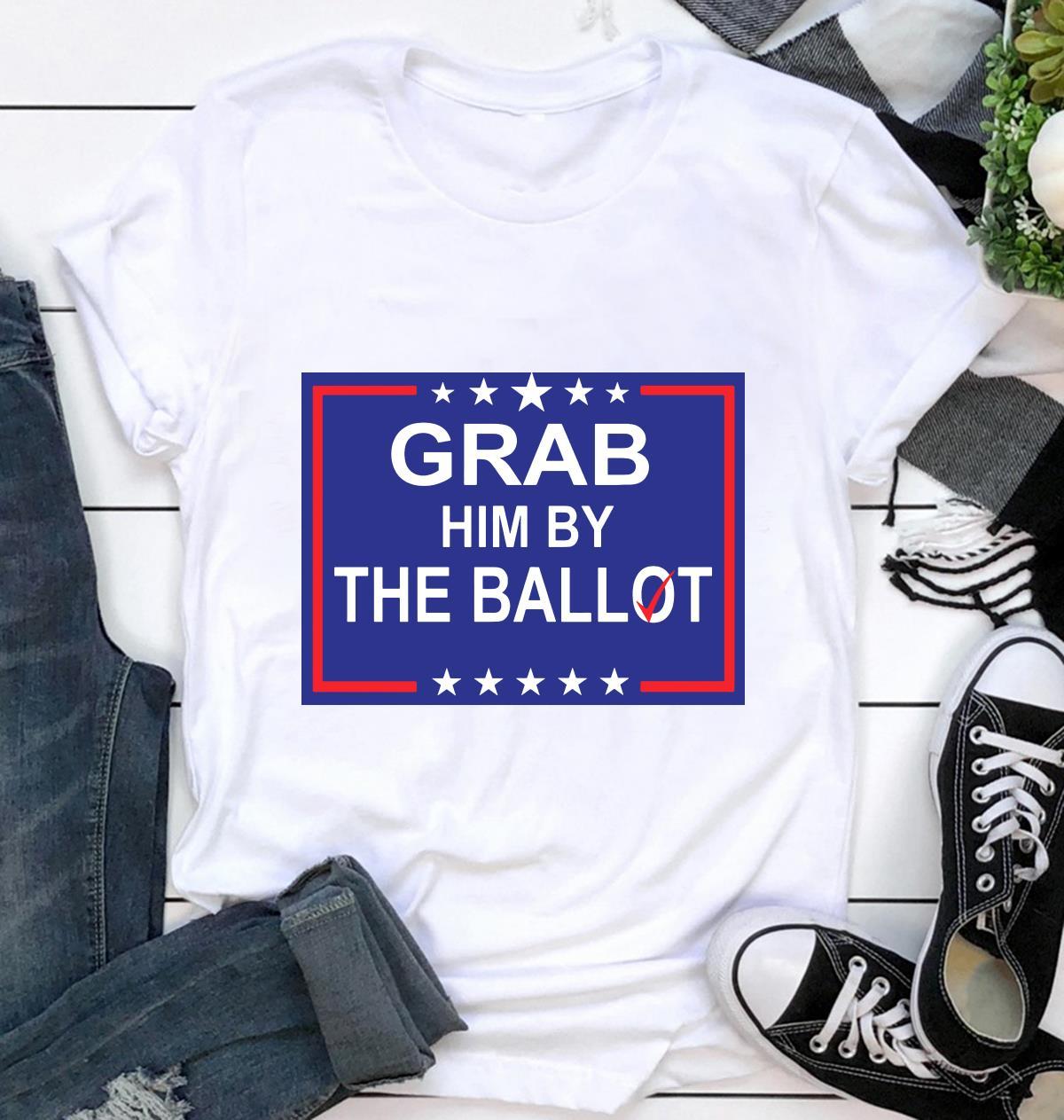 Grab him by the ballot nov 3 yard sign ca