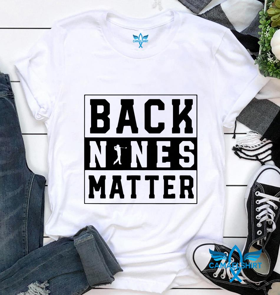 Notorious RBG back nines matter shirt