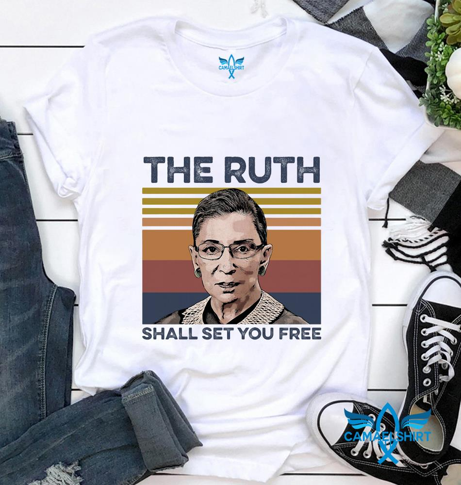 RBG the ruth shall set you free vintage t-shirt