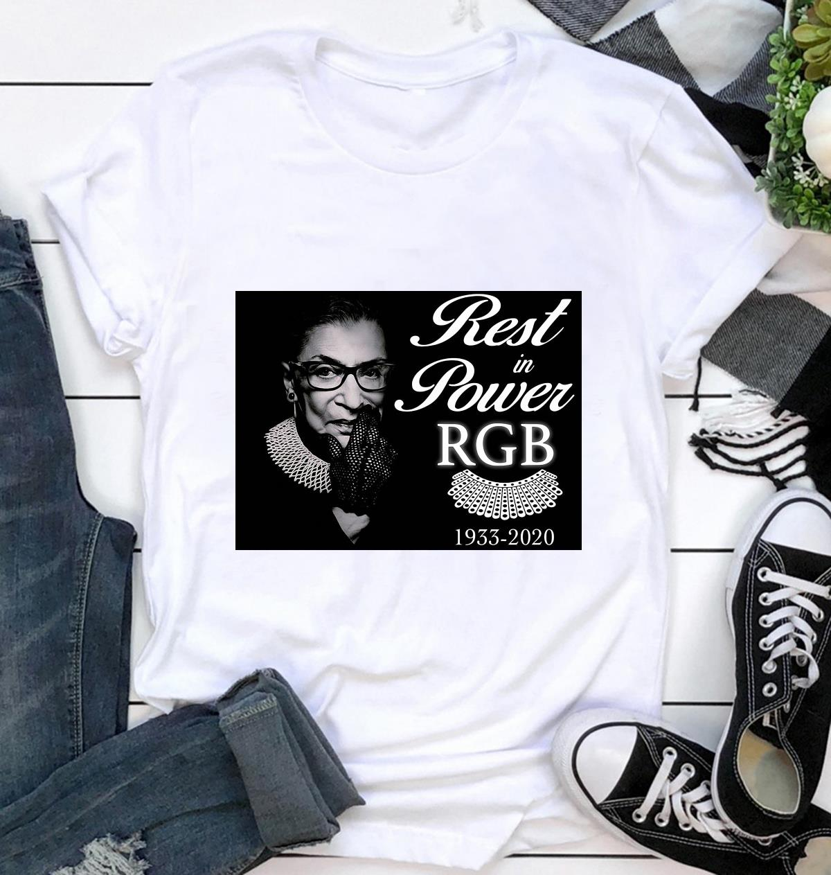 Rest in power RBG 1933-2020 yard sign ca