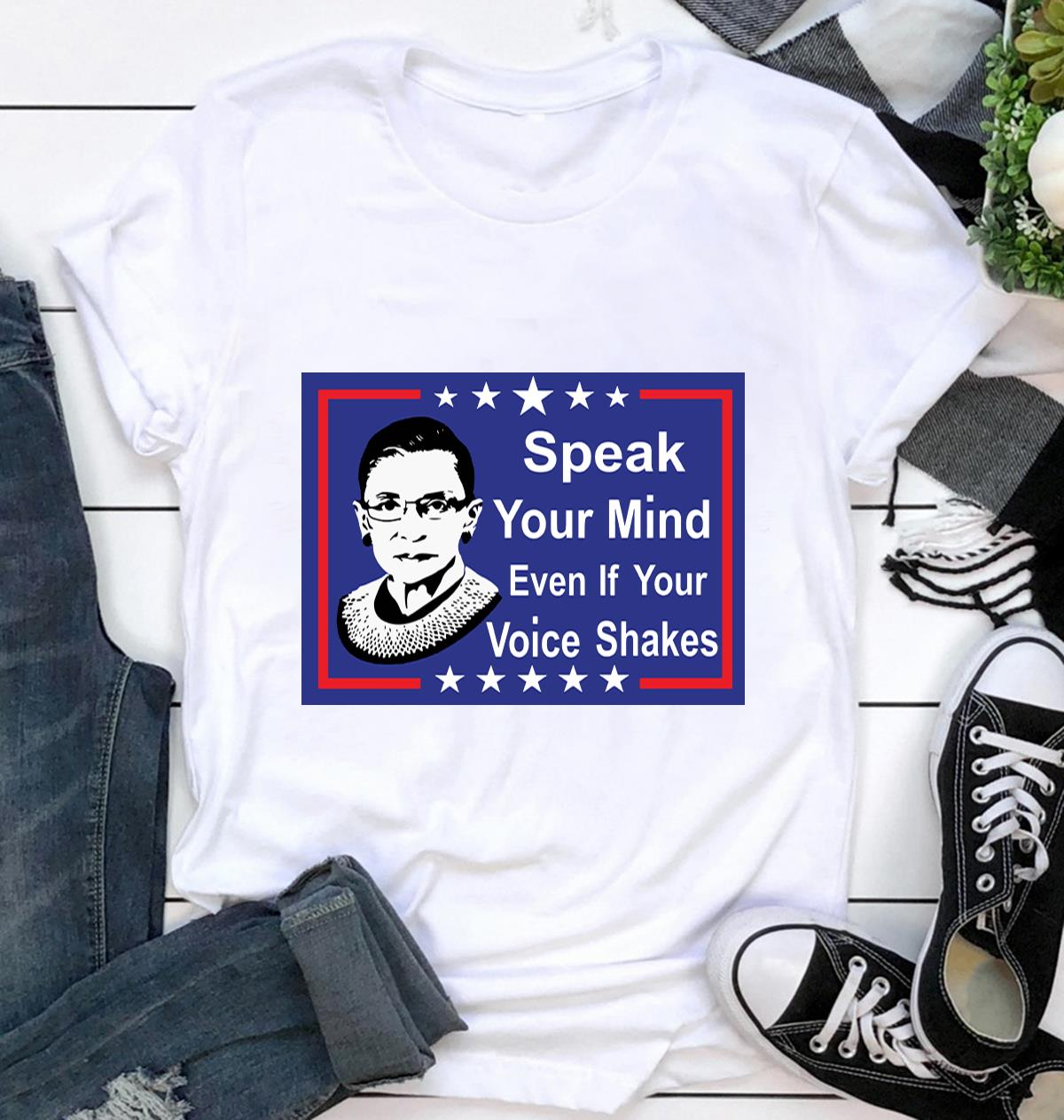 Speak your mind even if your voice shakes yard sign ca