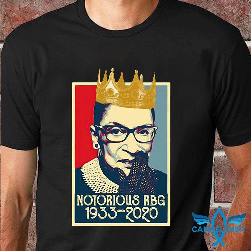 Vintage Notorious Rbg Ruth Bader Ginsburg 1933-2020 t-shirt