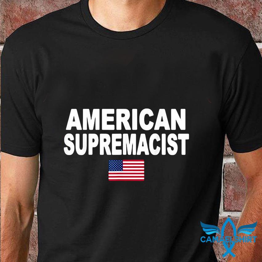 American Supremacist Pro USA Parody t-shirt
