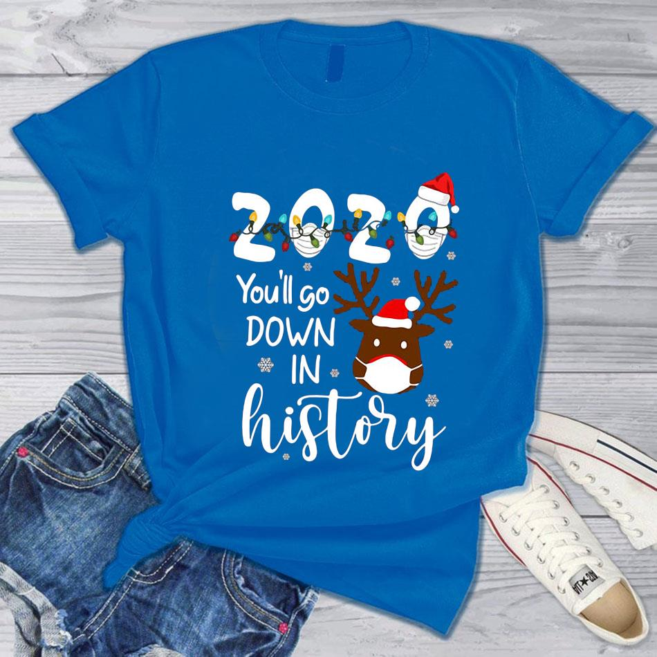 Christmas 2020 you'll go down in history s blue