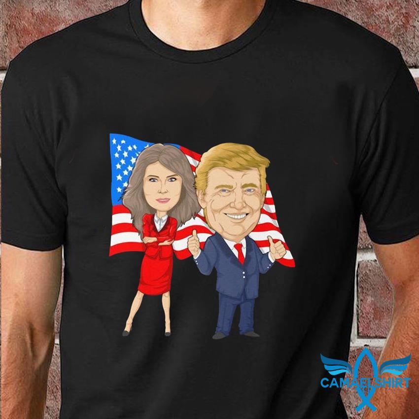 Donald Trump and Melania Trump Potus Flotus t-shirt