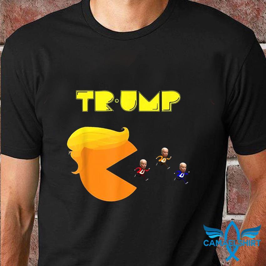 Donald Trump Biden video game t-shirt