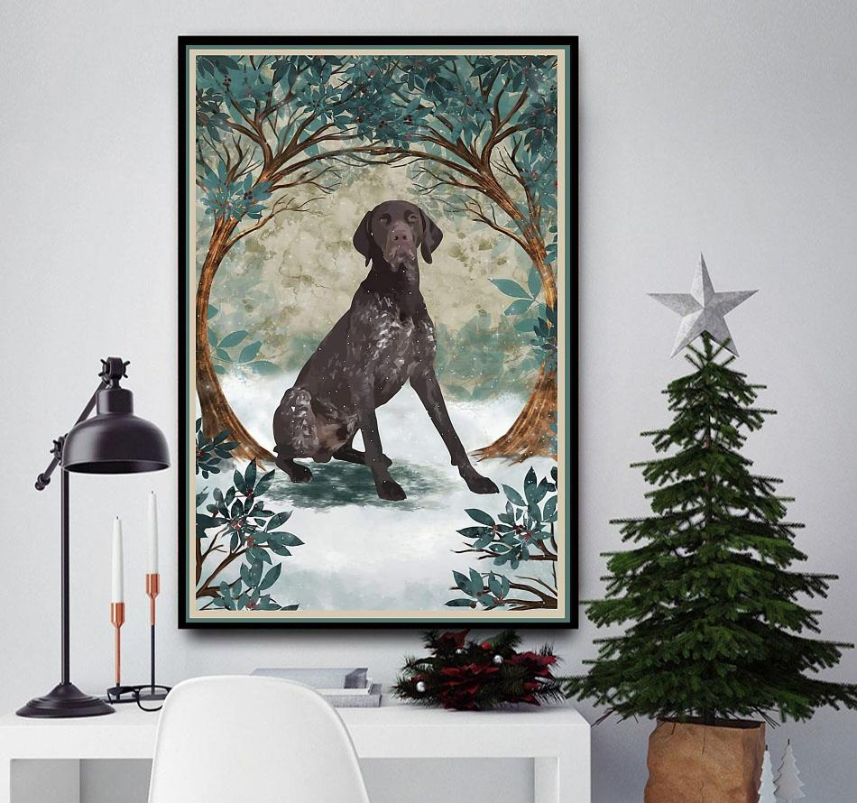 German Shorthaired pointer once upon a time poster