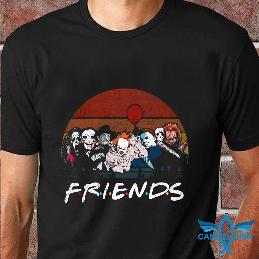 Halloween Horror Movie Killers vintage t-shirt