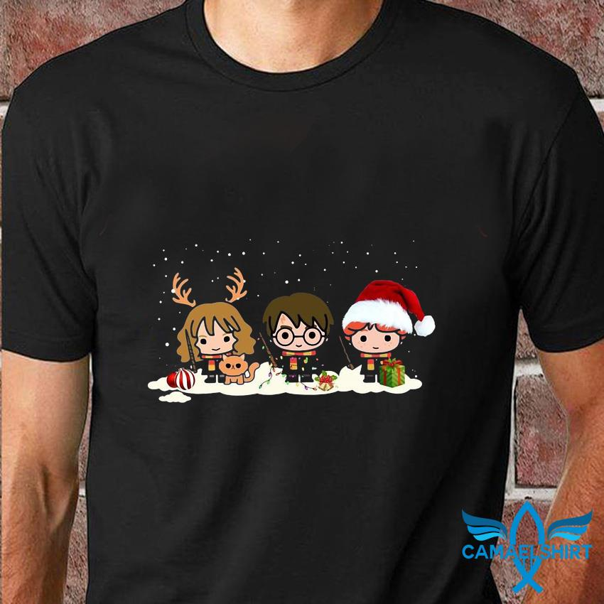 Harry Potter Characters Merry Christmas t-shirt